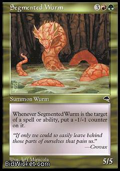 Segmented Wurm, Tempest, Magic the Gathering
