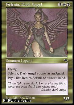 Selenia, Dark Angel, Tempest, Magic the Gathering