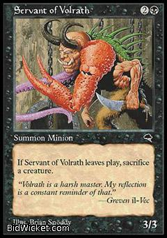 Servant of Volrath, Tempest, Magic the Gathering