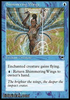 Shimmering Wings, Tempest, Magic the Gathering
