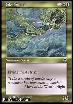 Sky Spirit, Tempest, Magic the Gathering