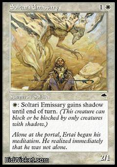 Soltari Emissary, Tempest, Magic the Gathering