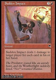 Sudden Impact, Tempest, Magic the Gathering
