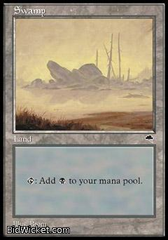 Swamp C, Tempest, Magic the Gathering