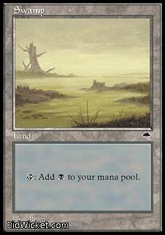 Swamp D, Tempest, Magic the Gathering
