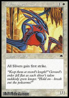 Talon Sliver, Tempest, Magic the Gathering