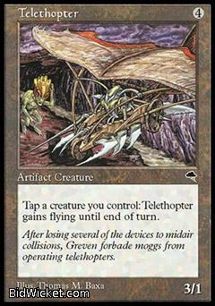 Telethopter, Tempest, Magic the Gathering