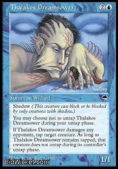Thalakos Dreamsower, Tempest, Magic the Gathering