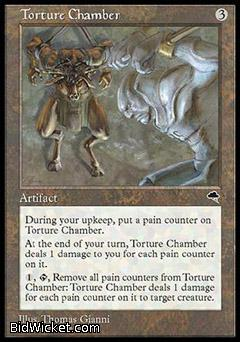 Torture Chamber, Tempest, Magic the Gathering