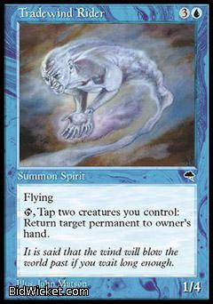Tradewind Rider, Tempest, Magic the Gathering