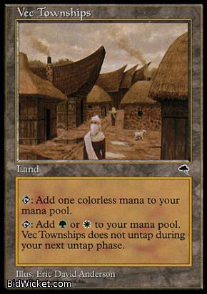 Vec Townships, Tempest, Magic the Gathering