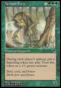Verdant Force, Tempest, Magic the Gathering