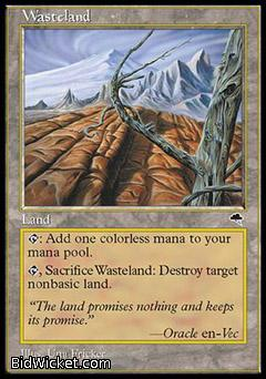 Wasteland, Tempest, Magic the Gathering