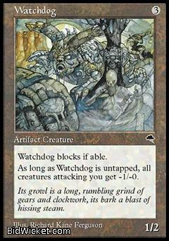Watchdog, Tempest, Magic the Gathering