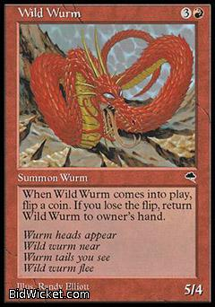 Wild Wurm, Tempest, Magic the Gathering