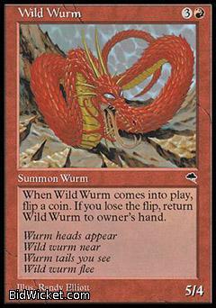 Wild Wurm, Tempest, Magic the Gathering