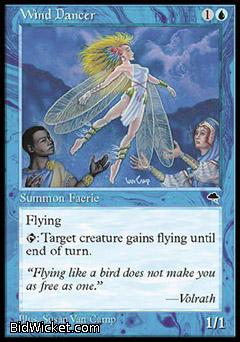 Wind Dancer, Tempest, Magic the Gathering