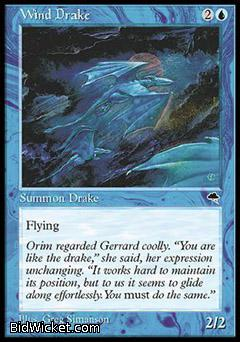 Wind Drake, Tempest, Magic the Gathering
