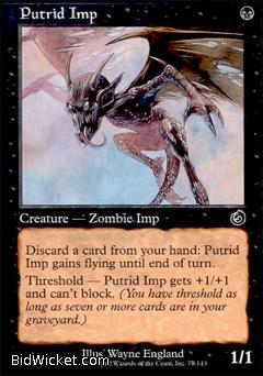 Putrid Imp, Torment, Magic the Gathering