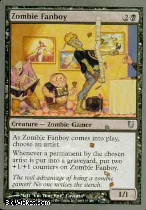 Zombie Fanboy, Unhinged, Magic the Gathering