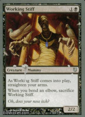 Working Stiff, Unhinged, Magic the Gathering