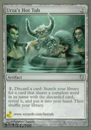 Urza's Hot Tub, Unhinged, Magic the Gathering