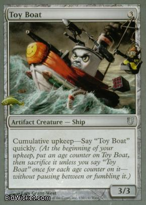Toy Boat, Unhinged, Magic the Gathering