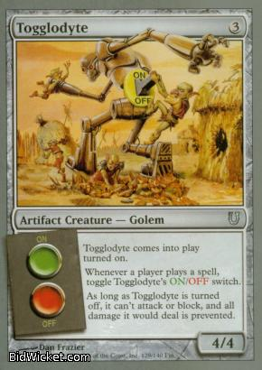 Togglodyte, Unhinged, Magic the Gathering