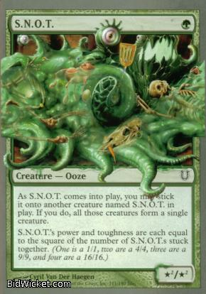S.N.O.T., Unhinged, Magic the Gathering