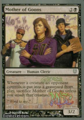Mother of Goons, Unhinged, Magic the Gathering