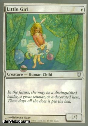 Little Girl, Unhinged, Magic the Gathering