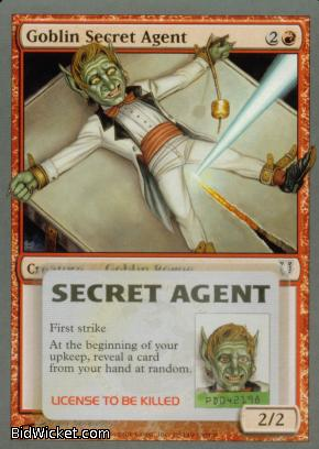 Goblin Secret Agent, Unhinged, Magic the Gathering