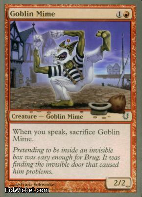 Goblin Mime, Unhinged, Magic the Gathering