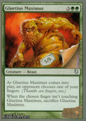 Gluteus Maximus, Unhinged, Magic the Gathering