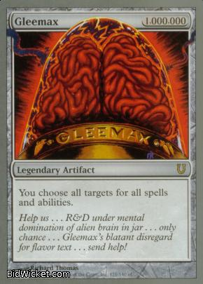 Gleemax, Unhinged, Magic the Gathering