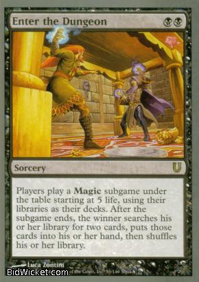 Enter the Dungeon, Unhinged, Magic the Gathering
