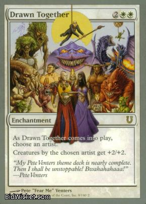Drawn Together, Unhinged, Magic the Gathering