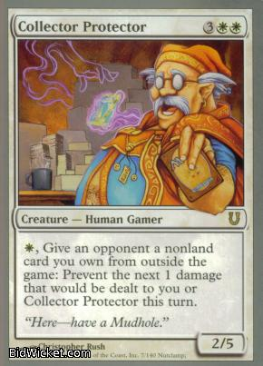 Collector Protector, Unhinged, Magic the Gathering