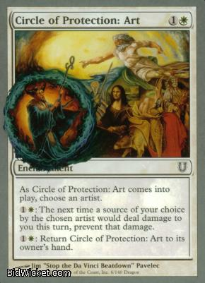 Circle of Protection: Art, Unhinged, Magic the Gathering