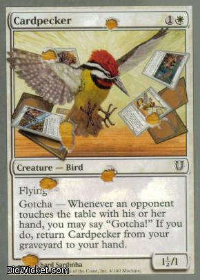 Cardpecker, Unhinged, Magic the Gathering