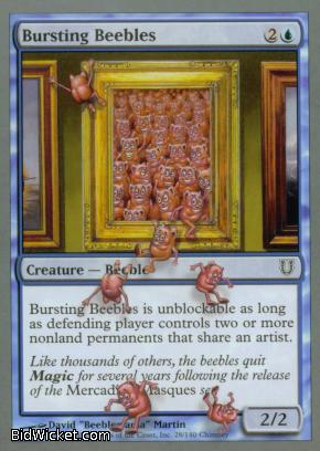Bursting Beebles, Unhinged, Magic the Gathering