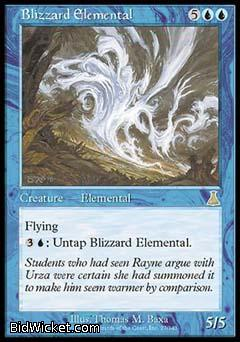 Blizzard Elemental, Urza's Destiny, Magic the Gathering