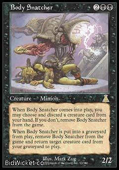 Body Snatcher, Urza's Destiny, Magic the Gathering