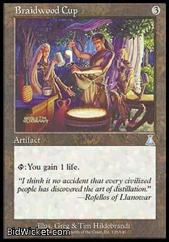 Braidwood Cup, Urza's Destiny, Magic the Gathering