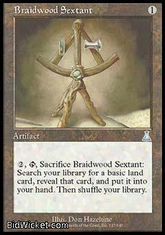 Braidwood Sextant, Urza's Destiny, Magic the Gathering