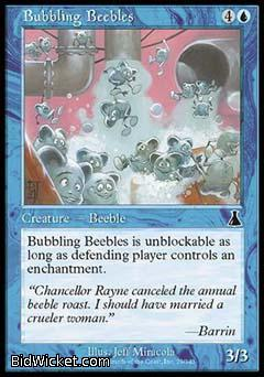 Bubbling Beebles, Urza's Destiny, Magic the Gathering