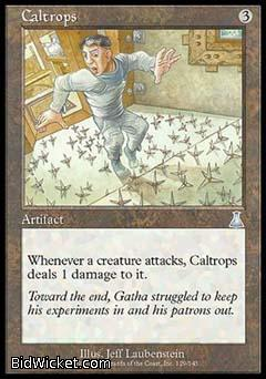 Caltrops, Urza's Destiny, Magic the Gathering