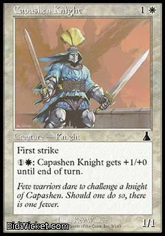 Capashen Knight, Urza's Destiny, Magic the Gathering