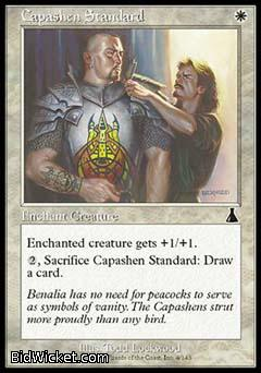 Capashen Standard, Urza's Destiny, Magic the Gathering
