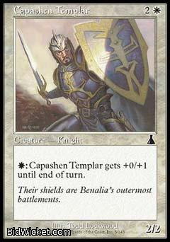 Capashen Templar, Urza's Destiny, Magic the Gathering
